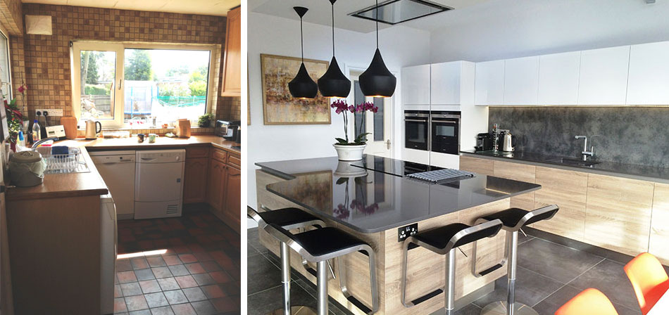 Wentworth Design make a Walton on Thames family's dream kitchen a reality