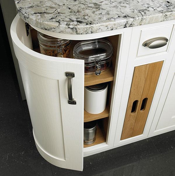 Wentworth design sunbury larder and base unit solutions for White kitchen base units